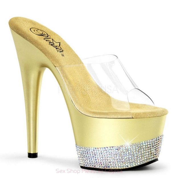 Adore-701-3/C/G rozm.10 clear/gold
