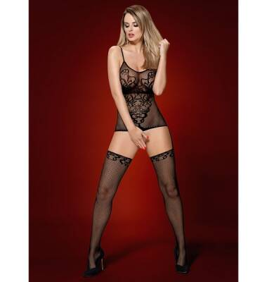 Obsessive Bodystocking F230 S/M/L Black