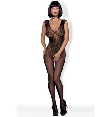 Obsessive N112 Bodystocking XL/XXL Black
