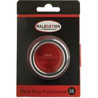 Malesation Metal Ring Professional 38 Ring erekcyjny metalowy