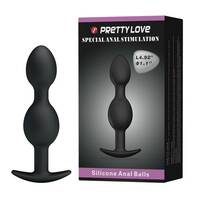 Pretty Love Anal Balls Black Kulki analne