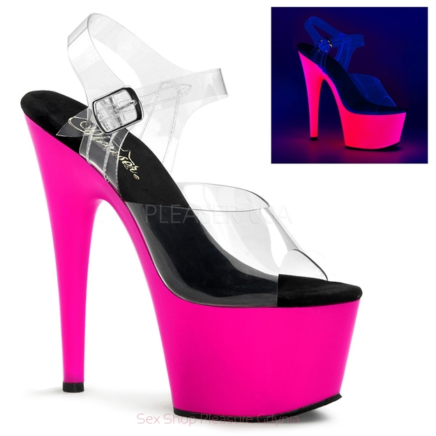 Adore-708UV/C/NPN rozm. 5 clear/neon/pink
