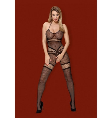 Bodystocking  N118 S/M/L Black