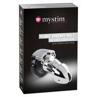 Mystim Pubic Enemy No1 Silver edition