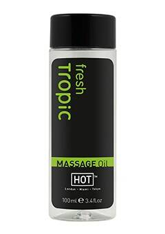 Hot Massage Tropical Fresh Olejek do masażu 100 ml