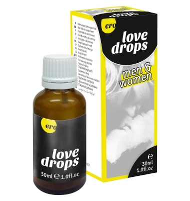Ero Love Drops Men & Woman Krople pobudzające 30 ml